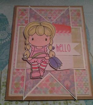 Hello Handmade Card