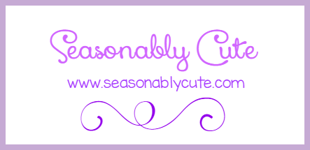 Seasonably Cute card logo by SeasonablyCute