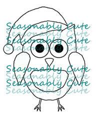 Digi Stamp ~ Christmas Owl