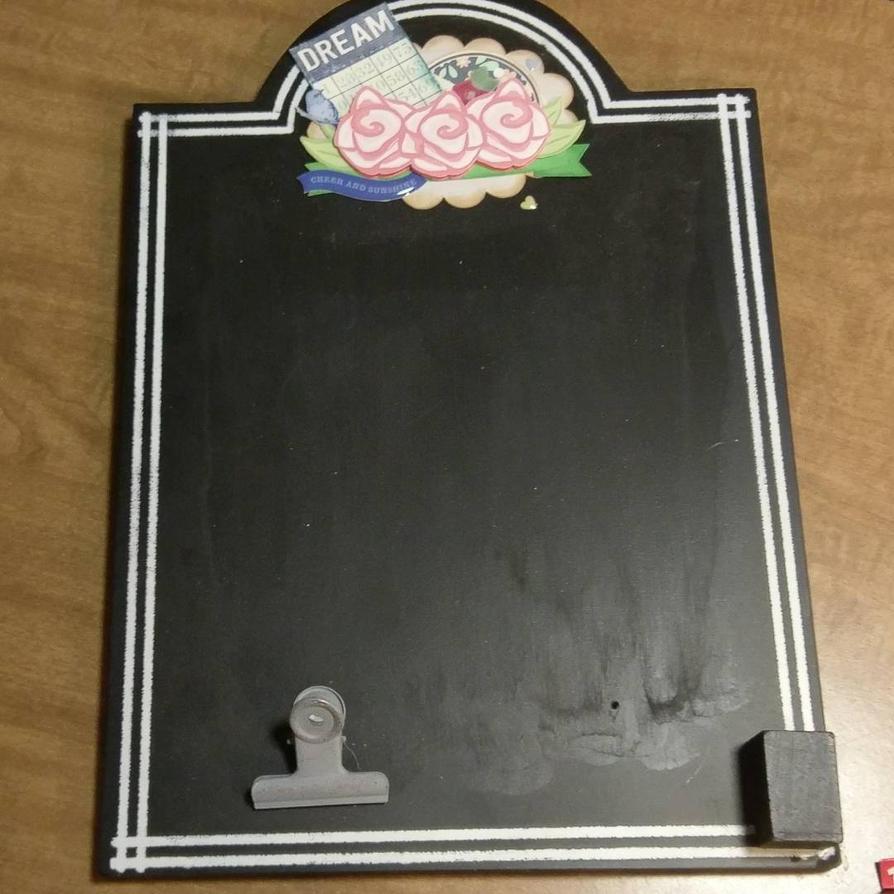 custom chalkboard by SeasonablyCute