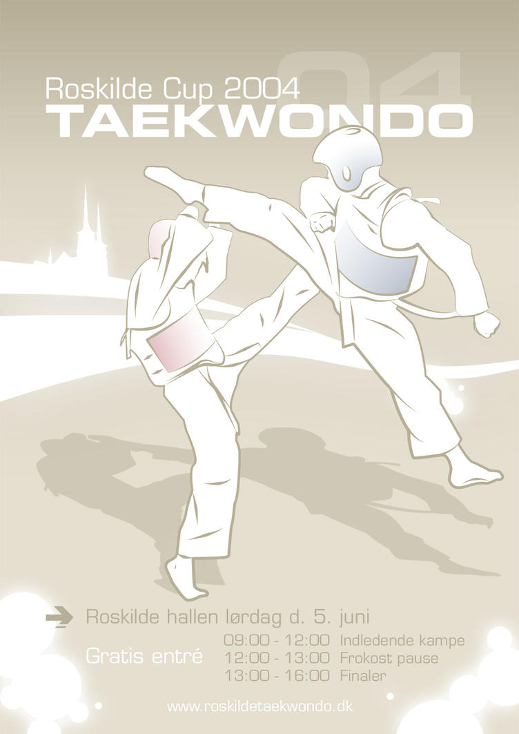 Taekwondo Tournament Poster by megamonster on DeviantArt