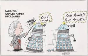 Daleks, beware by Carthoris