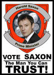 Harold Saxon Poster