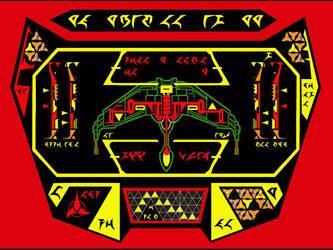 Klingon BoP Wallpaper by Carthoris
