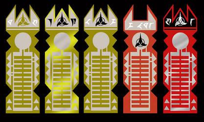 Klingon Data Chips