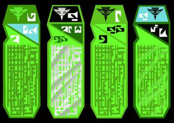Romulan Data Chips