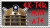 Dalek Stamp by Carthoris