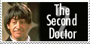 Second Doctor Stamp by Carthoris