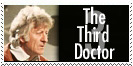 Third Doctor Stamp by Carthoris