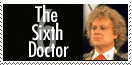 Sixth Doctor Stamp by Carthoris