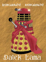 The Dalek Lama by Carthoris