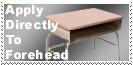 Head Desk Stamp by Carthoris