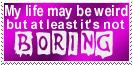 Weird Life Stamp by Carthoris