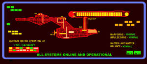 Enterprise System Status Panel