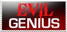 Evil Genius Stamp by Carthoris