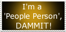 People Person Stamp by Carthoris
