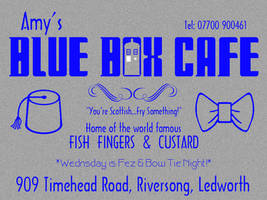 Blue Box Cafe 2 by Carthoris