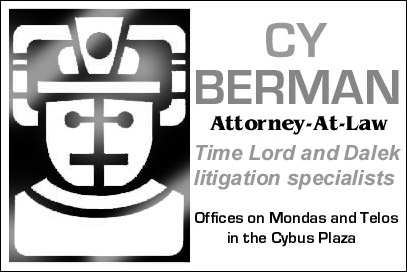 Cy Berman, Attorney Card by Carthoris