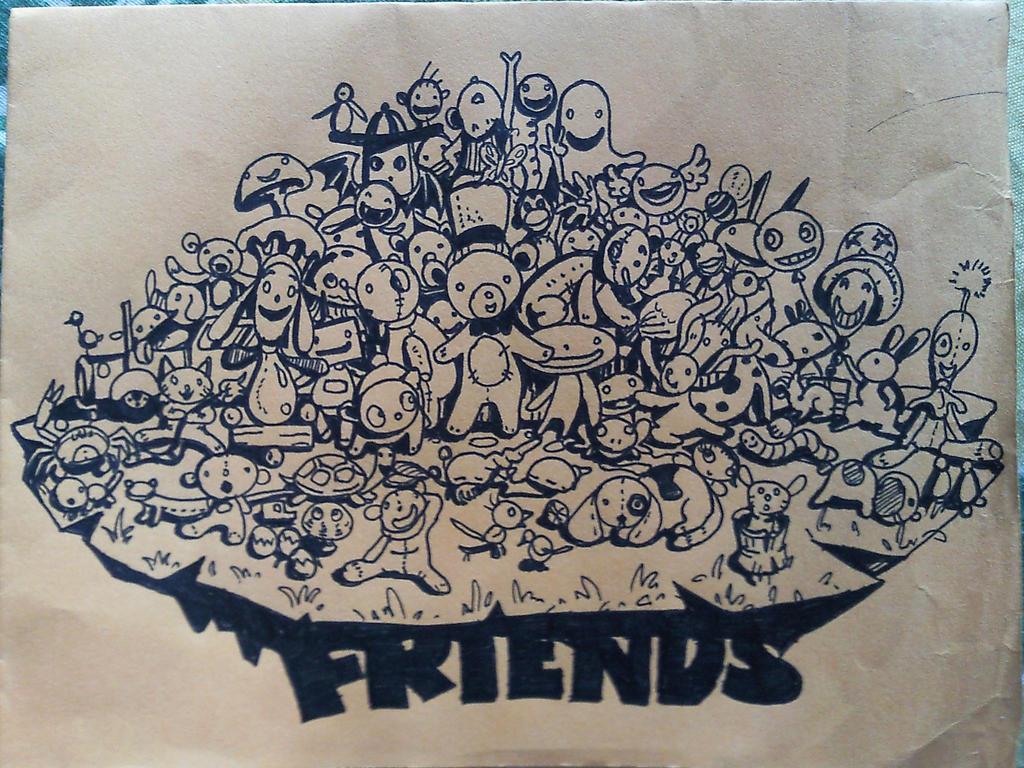 Friends by jesalva