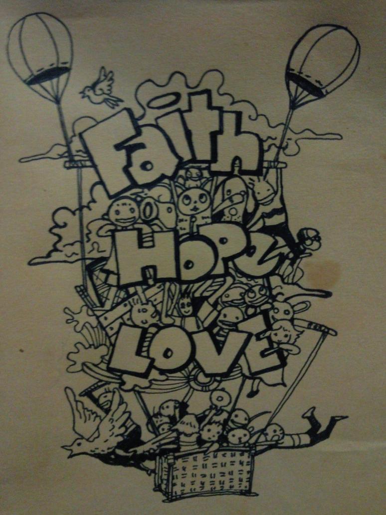 Faith Hope Love by jesalva
