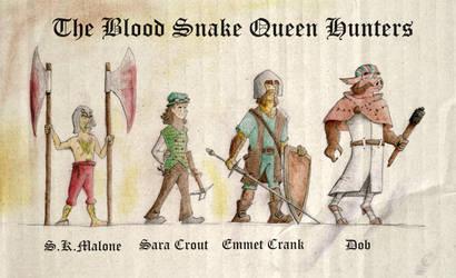 The Blood Snake Queen Hunters by Rukartbert