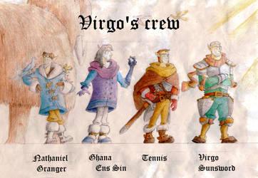 Virgo's Crew by Rukartbert