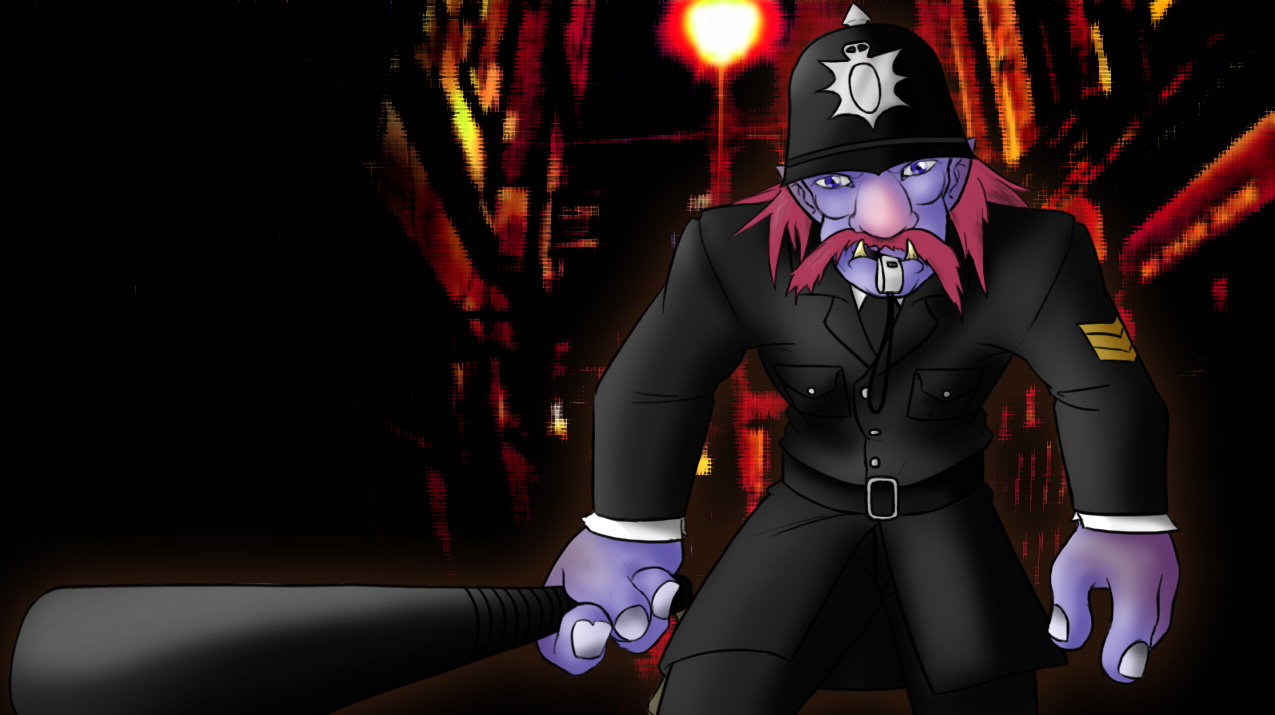 Constable Trundle 2.0 by Pachycephalosaurus36 on DeviantArt