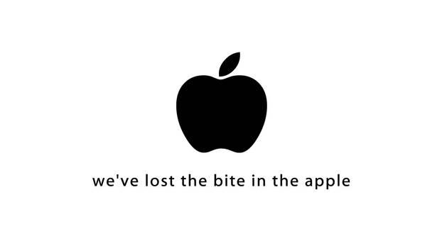 We've lost the bite.