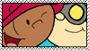Abby and Hoagie Stamp by OrionStorm