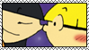 Kuki and Wally Stamp by OrionStorm