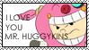 Mr Huggykins Stamp by OrionStorm