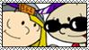 Nigel and Rachel Stamp by OrionStorm