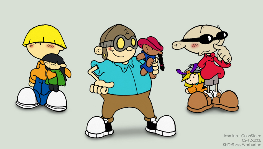 of my current top four favorite couples in Codename: Kids Next Door.: