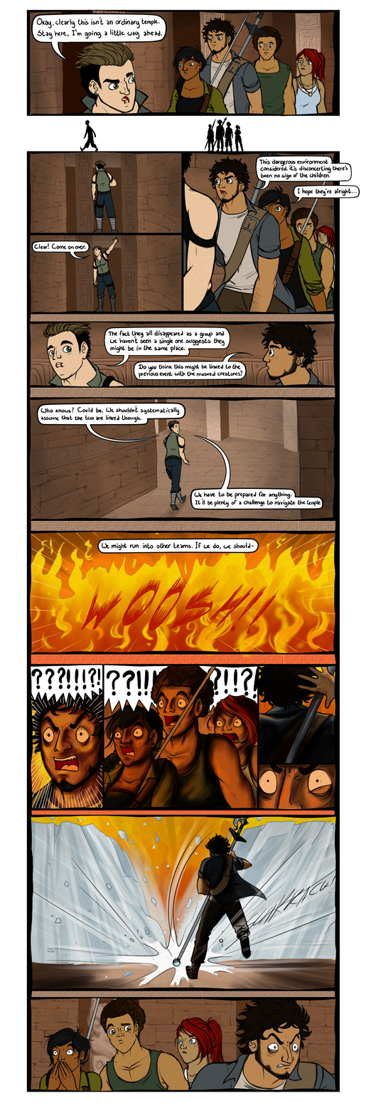 Temple Event - Page 1 by OrionStorm