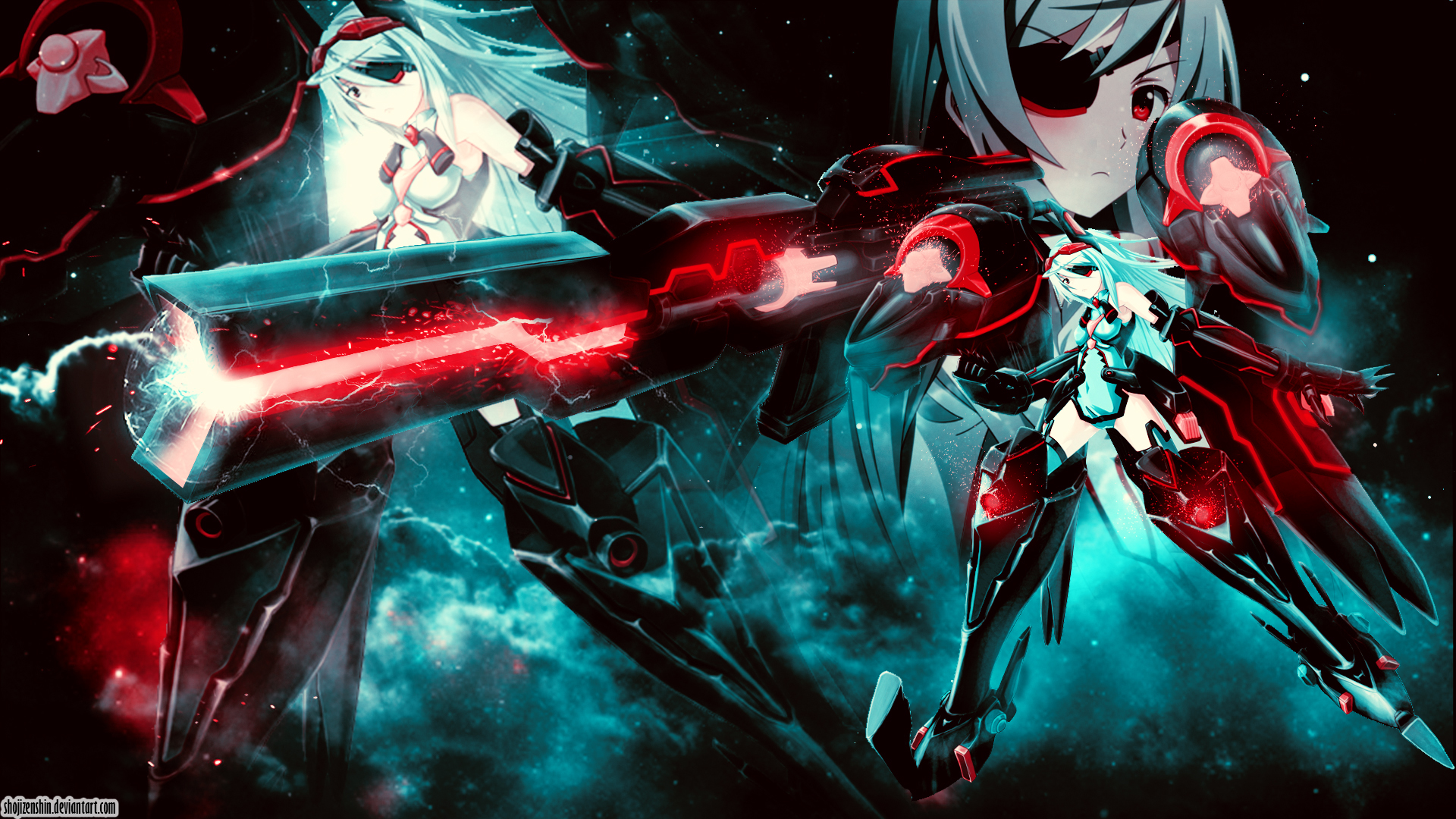 Laura Bodewig - Infinite Stratos Wallpaper by ShojiZenshin ...