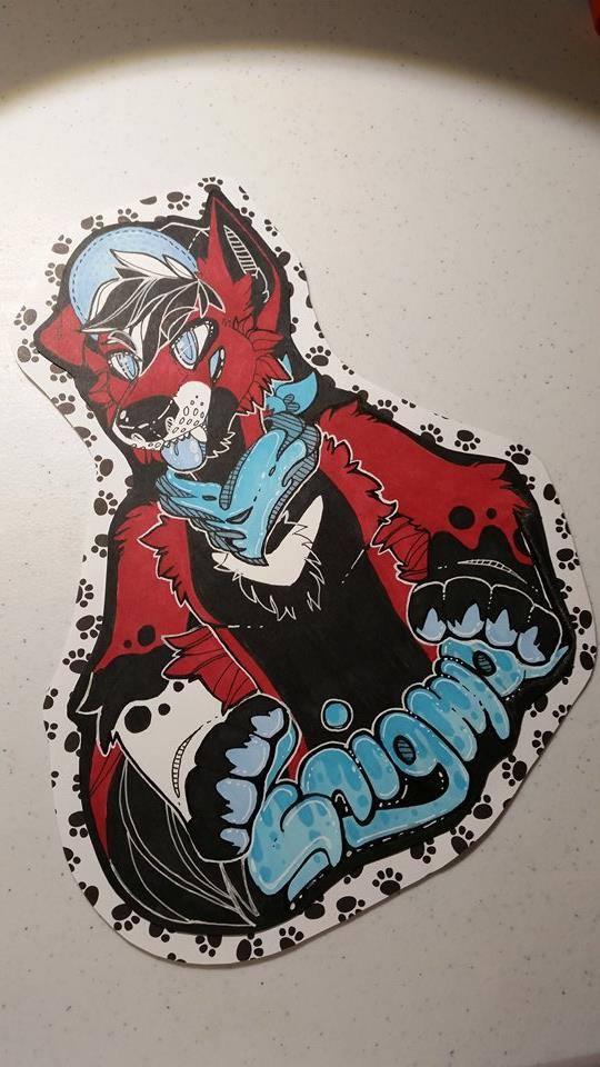 Birthday Wolf! by Ryoxi