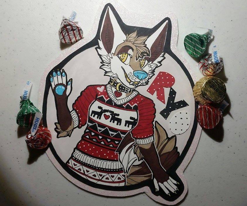Holiday Doggy! by Ryoxi