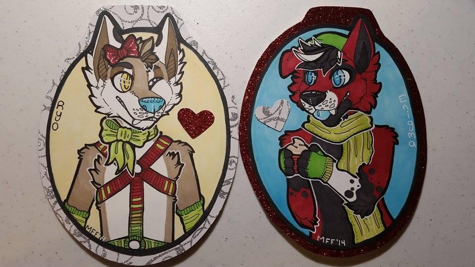 MFF 2014 Badges by Ryoxi