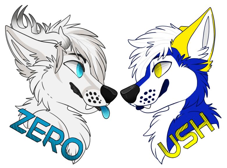 ZeroFoxicity Badges by Ryoxi