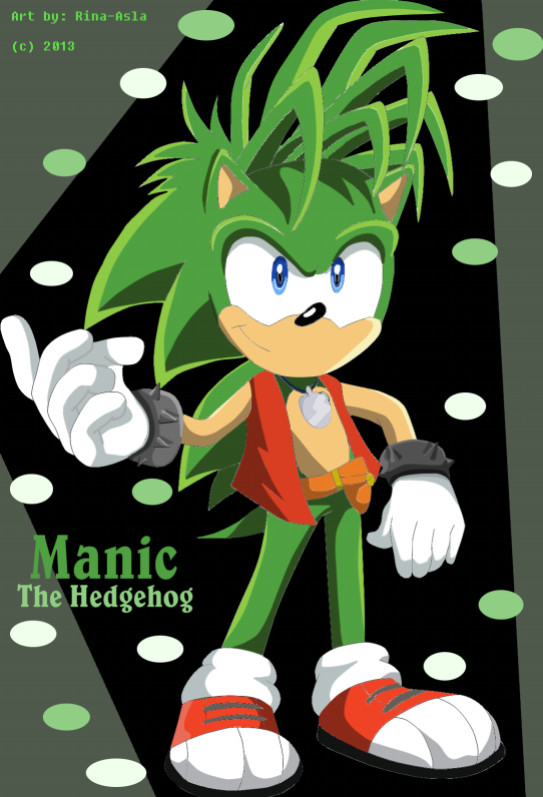 Manic The Hedgehog by Rina-Star on DeviantArt