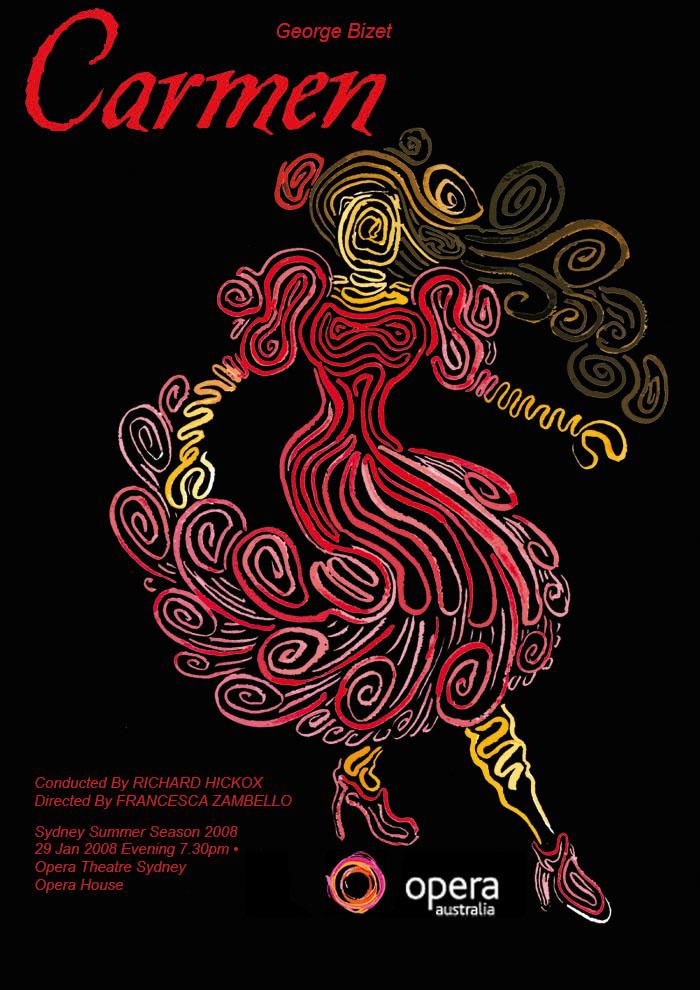 Carmen Poster by JadeAutumn
