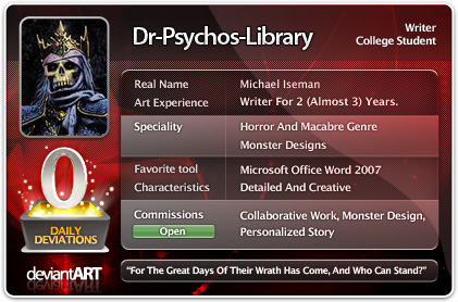 Dr-Psychos-Library's Profile Picture