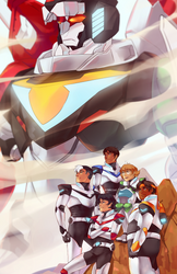 Voltron by Synnesai