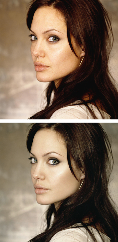 Angelina Jolie Retouch
