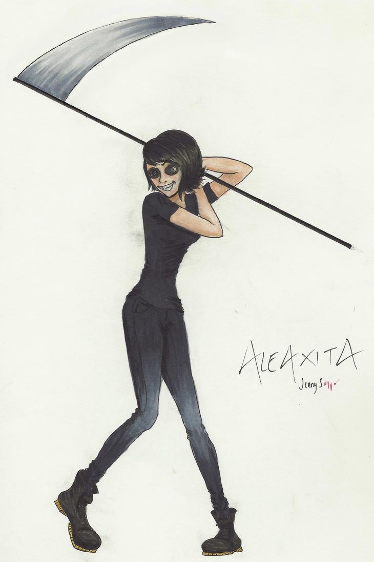 Aleaxita - Batter Up? by BillKaulitzsWife