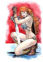 Red Sonja by skeel76
