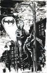 Batman and Spider man hanging around.