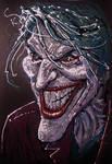 Joker mixed media