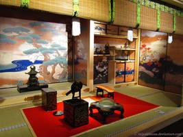 Tokyo / traditional interior exhibition #2 by taiyakitsune