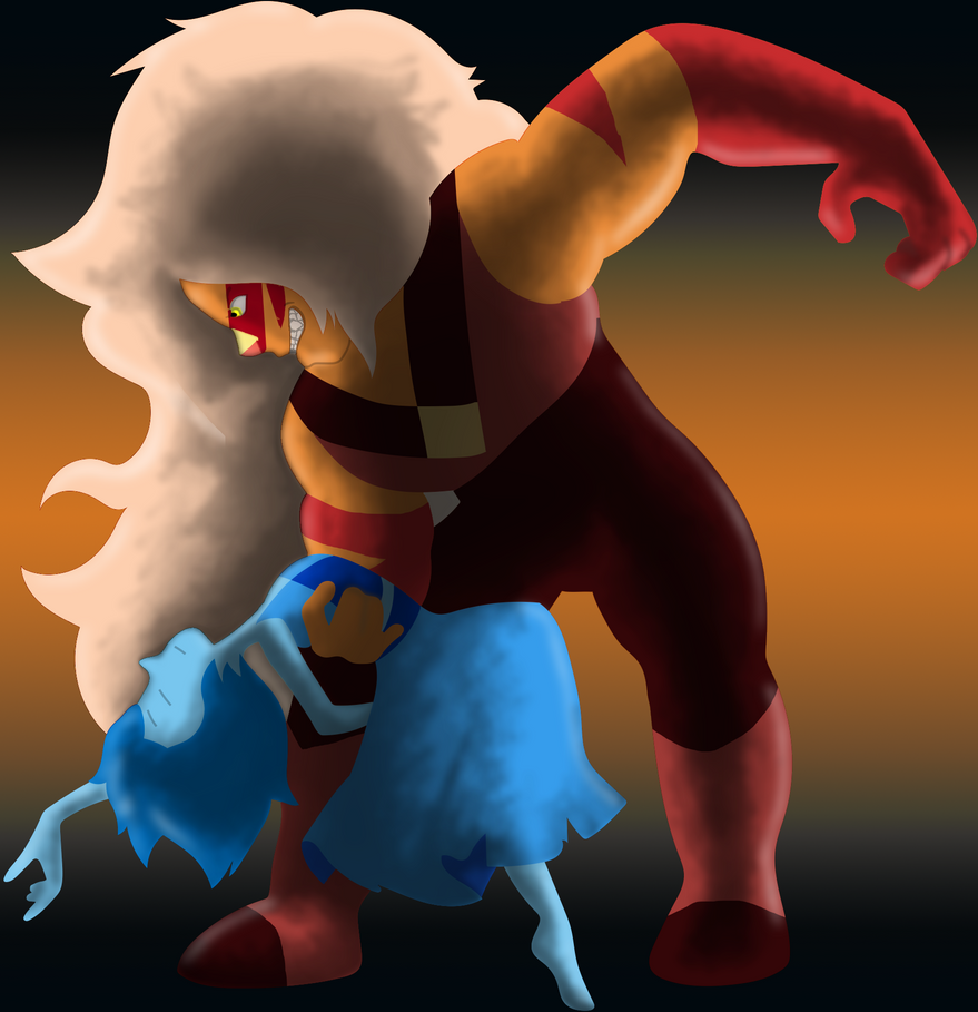 Jasper and Lapis Fusion Dance by Arcane-World